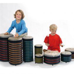 Drum Percusion Set of 8 – Trommus