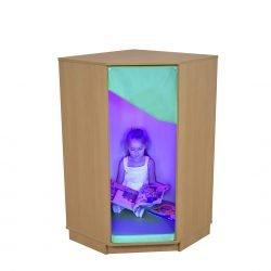 LED Corner Cabinet