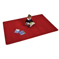 Rectangle Rug – Red