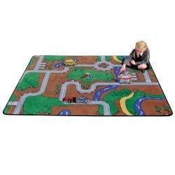 Play Building Block Rug