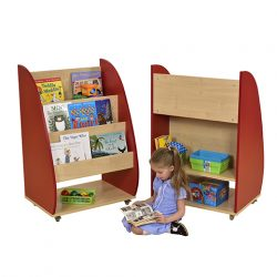 Demi Bookcase Red