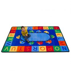 Cars Alphabet and Numbers Rug