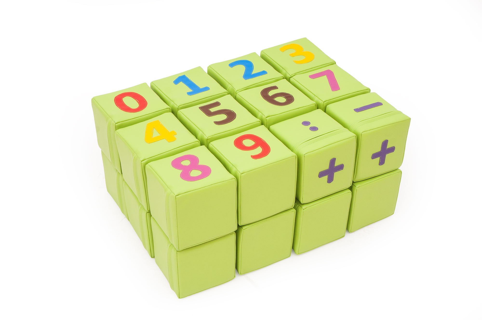 Soft Play Number Cubes Bambino Planet