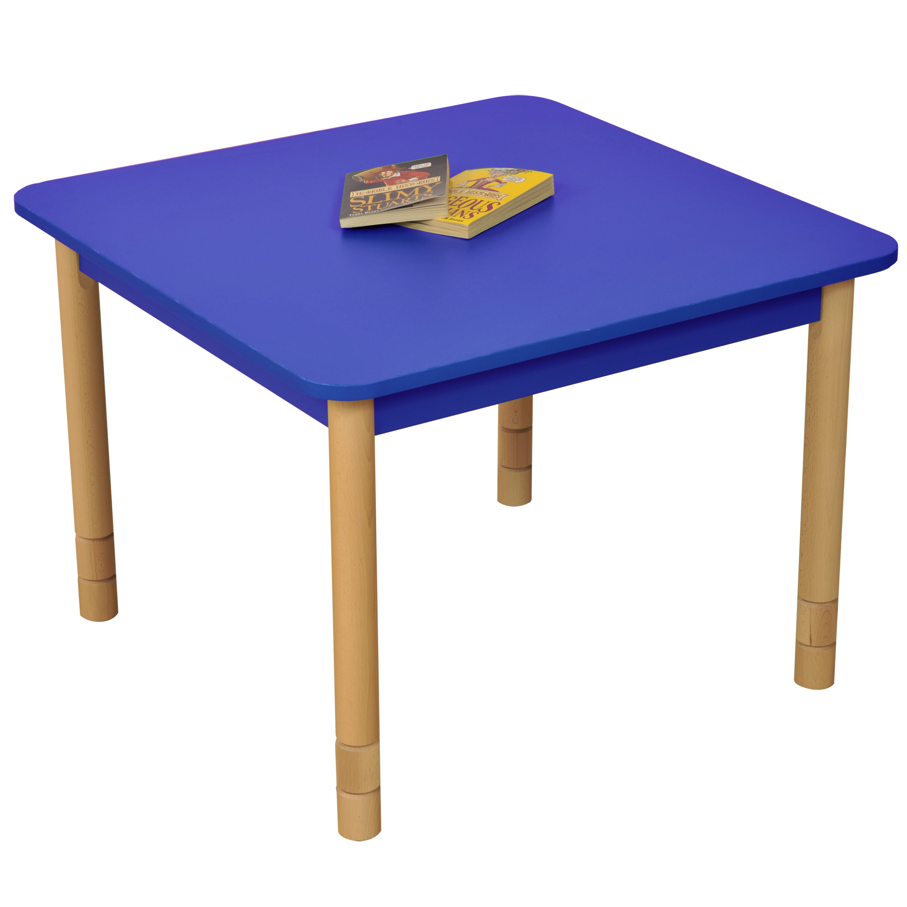 Height Adjustable Square Table Bambino Planet