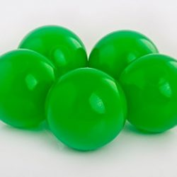 Plastic Balls x 500 Forest Green