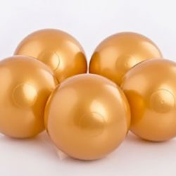 Plastic Balls x 500 Gold
