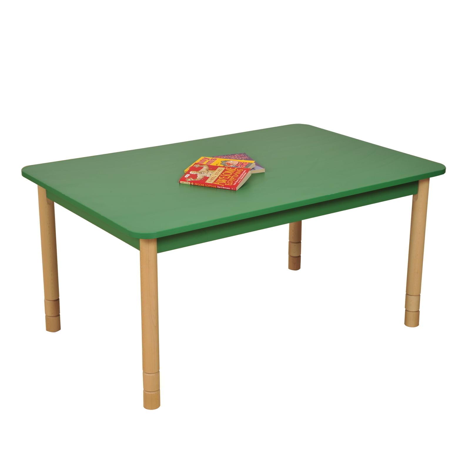 Height Adjustable Rectangle Table Bambino Planet