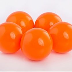 Plastic Balls x 500 Orange