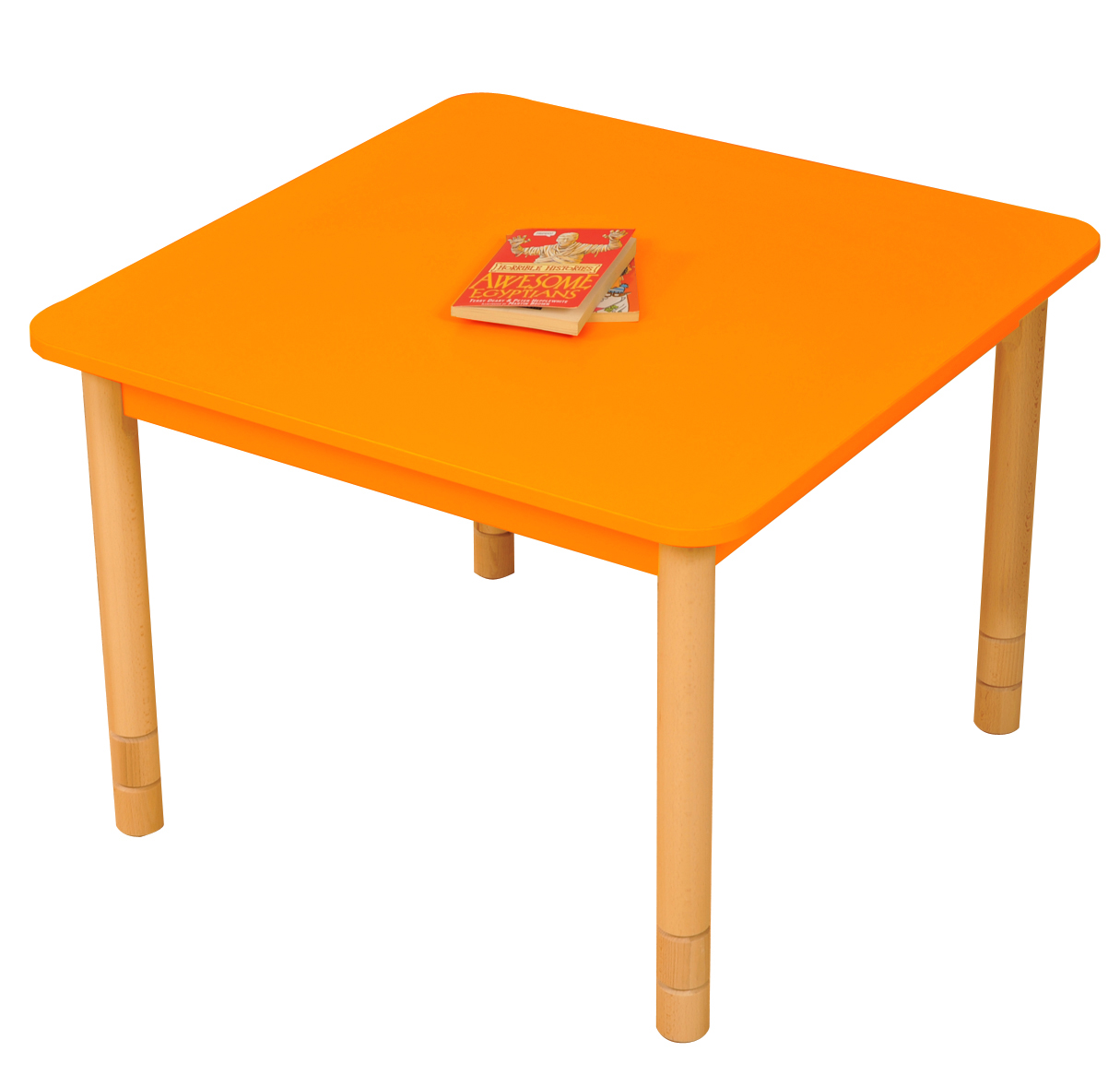 187 Height Adjustable Square Table