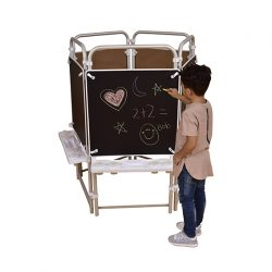 5 sided Easel Set (with 5 Magnetic Chalkboards)