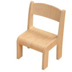 26cm Wooden Stacking Chair