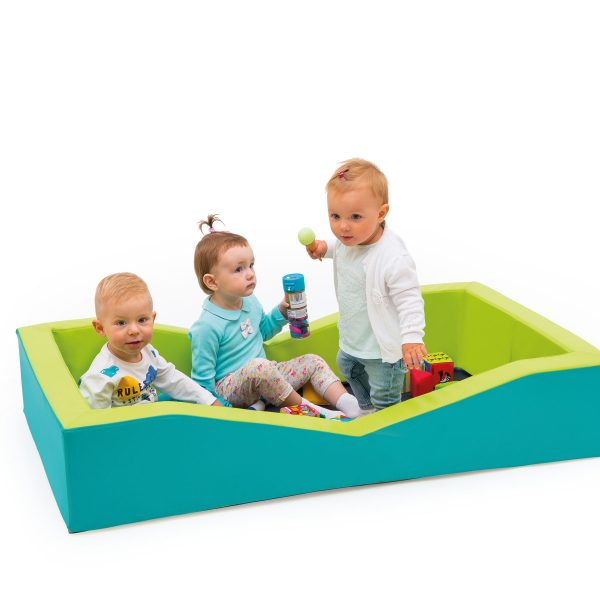 Playpen with mattress