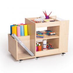 Cabinet for art accessories