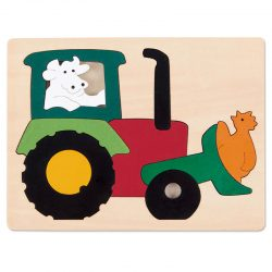 """George Luck Puzzle """"Tractor"""""""