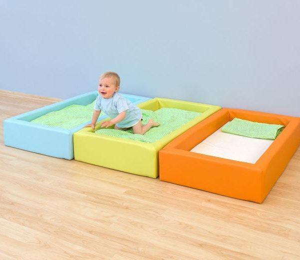 Krippen Schaum Bett mit Matratze A  b XL