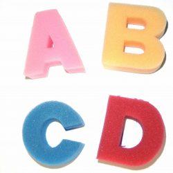 Foam Letters A-Z UPPER CASE
