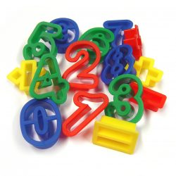 Number and Arithmetic Cutters, Set of 15