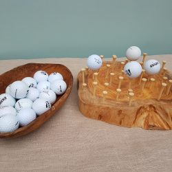 Finger Gym – Balance balls on golf tees