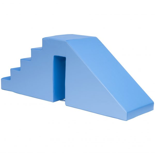 soft play steps and slide