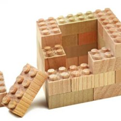 Wooden Duplo Mokulock Tsumiki 56psc