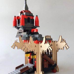 brikkon ninja tempel