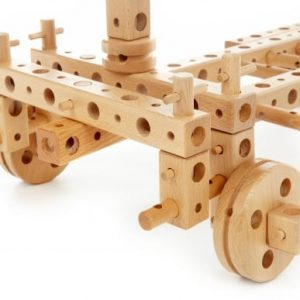 construction toy, large construction set, wooden construction toy,