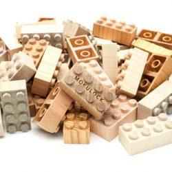 Wooden Lego Mokulock Basic 48psc