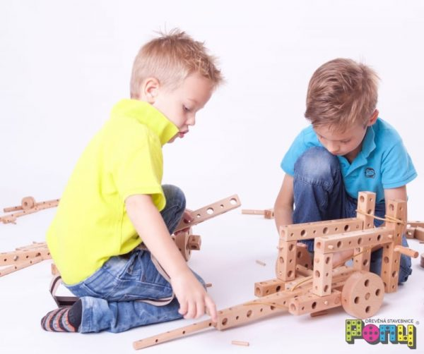 construction set, wooden construction, pony construction, large construction set
