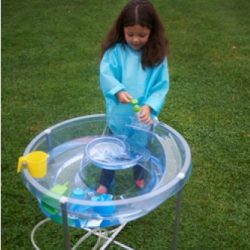 CIRCULAR WATER TRAY – CLEAR