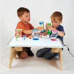 A2 FOLDING LIGHT TABLE SET