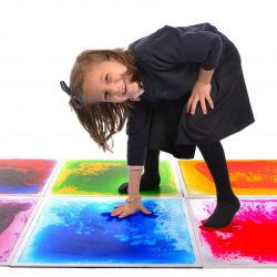 Liquid Sensory Floor Tiles Pack of 6