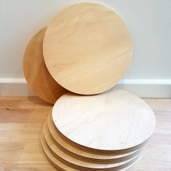 Wooden Boards – Round
