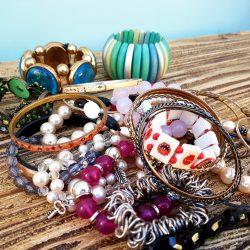Bracelets, 10 pcs