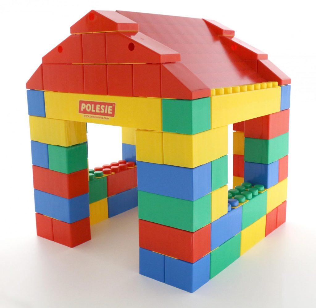 House Building Set 134 Xxl Psc Bambino Planet