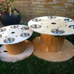 Medium Cable Drum with Bowls