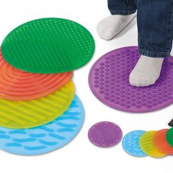 Silly shapes sensory mats
