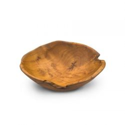 Teak Root Rustic Table Bowl Small