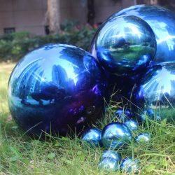Sensory Mirror Blue Balls PK4