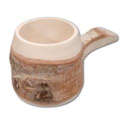 Wooden Birch Cup