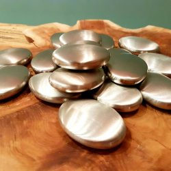 Stainless Steel Ovals pk10