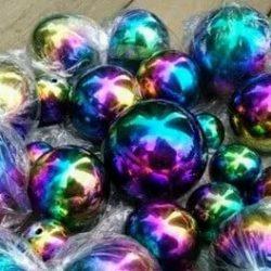Sensory Rainbow Balls PK4
