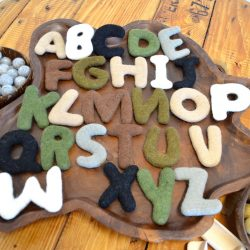 Felt Alphabet – Capital Letters