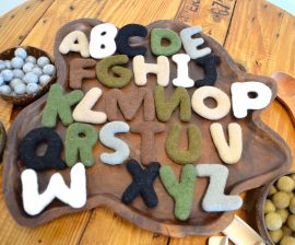 Felted Alphabet Capital letters