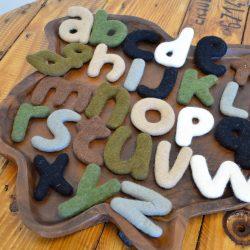 Felt Alphabet – Lower Case