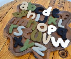 Felted Alphabet Lower Case