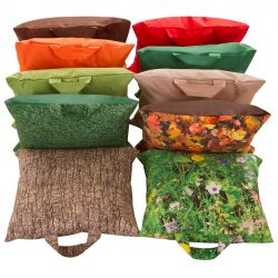 Pack of 10 Seasons Grab-and-Go Cushions