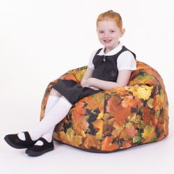 Learn about Nature Autumn Leaves Children's Bean Bag