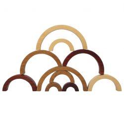 Wooden Arches – 10 Pieces Set