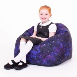 Galaxy Print Children's Bean Bag