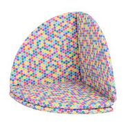 Multi-way mat hexagonal print
